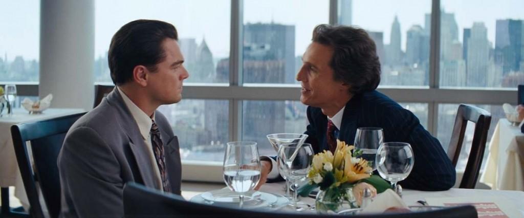 Leonardo DiCaprio and Matthew McConaughey.